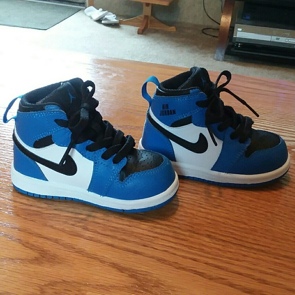 7d545ebd75 Jordan Other - NIKE AIR JORDAN 1 retro baby boy's shoes size 6c